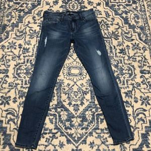 Kut med wash mid rise jean